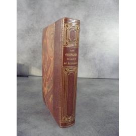 Clair Tisseur Les oisivetés du sieur Nizier du Puitspelu Lyonnais. 1883 sur Whatman reliure maroquin bibliophilie