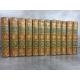 Du Noyer Madame Lettres historiques et galantes ouvrage curieux 12 volumes complet fines reliures.