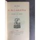 Lamartine Voyage en orient Alphonse Lemerre Charmante édition bonne reliure maroquin