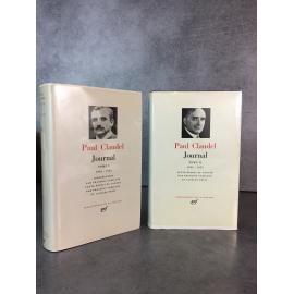 Collection Bibliothèque de la pléiade NRF Paul Claudel Journal T1 et T2 bons exemplaires