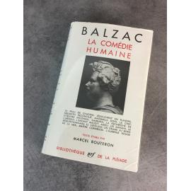 Collection Bibliothèque de la pléiade NRF Balzac comédie humaine T9 peau de chagrin