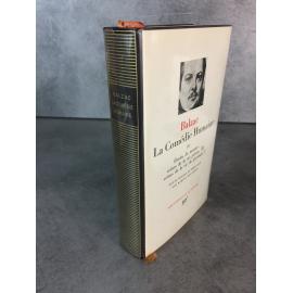 Collection Bibliothèque de la pléiade NRF Balzac comédie humaine T3 Etudes de mœurs