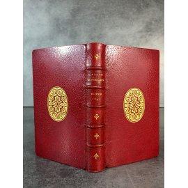 Tacite Historiarum Elzevir 1640 très bel exemplaire plein maroquin de Amand.