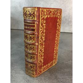 Conciones et relationes historicis latinis Elzevir Plein maroquin du XVIIIe provenance J.B Bordes .