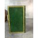 Pratica di amar Gesu Cristo Torino 1832 plein maroquin vert empire Italiano légatura reliure
