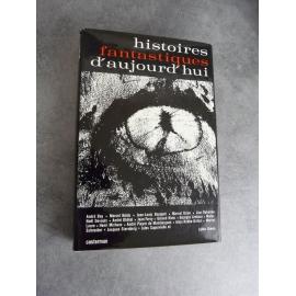 Histoires fantastiques d'aujourd'hui Casterman 1965 Etat de neuf relié + jaquette