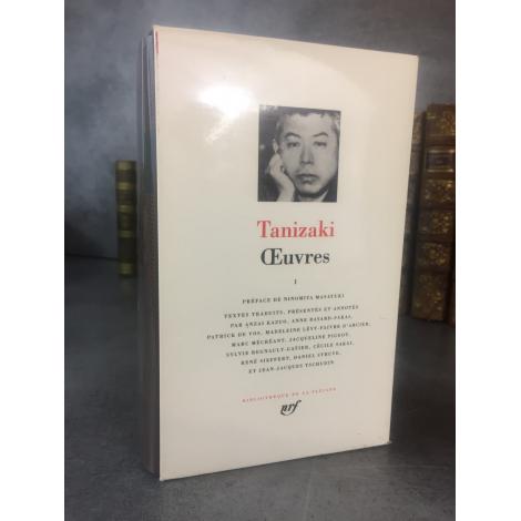 Collection Bibliothèque de la pléiade NRF Tanizaki Oeuvres T1 bel exemplaire 1er tirage