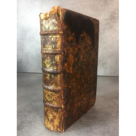 Bible Exode Lévitique traduit en Français Paris Roulland 1683 Edition originale traduction de Lemaistre de Sacy .