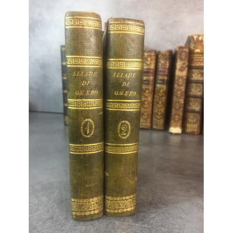 Iliade di Omero Traduzione Vincenzo Monti Milano stampéria Réale 1812 Annecy Ex dono Carlo Carron