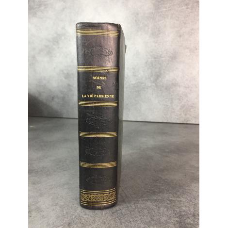 Balzac Scènes de la vie parisienne Charpentier 1839 1ere Edition collective.