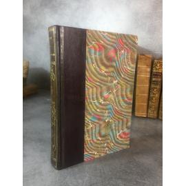 Balzac Les paysans Illustrés par Toudouze librairie artistique 1900 reliure cuir