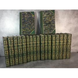 Henri Martin Histoire de France Furne 1852 Exemplaire superbement relié à l'époque en parfaite condition. Complet en 19 volumes