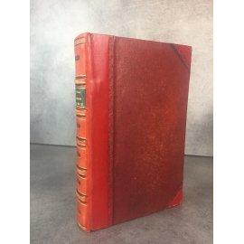 Stendhal Le rouge et Le noir Paris Hetzel 1846 Reliure cuir ancienne, bel ex libris Walter E. LLoyd