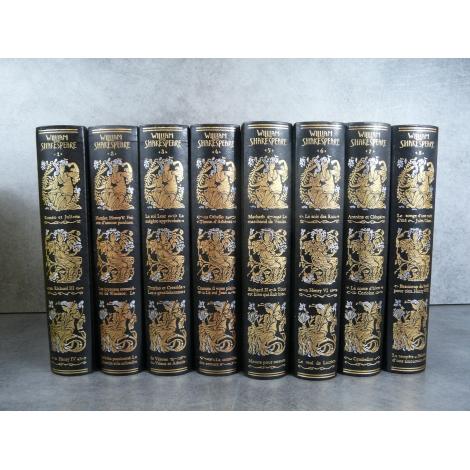Jean de Bonnot Shakespeare Oeuvres Exemplaire de tête bon état de neuf 1982-83 Collector