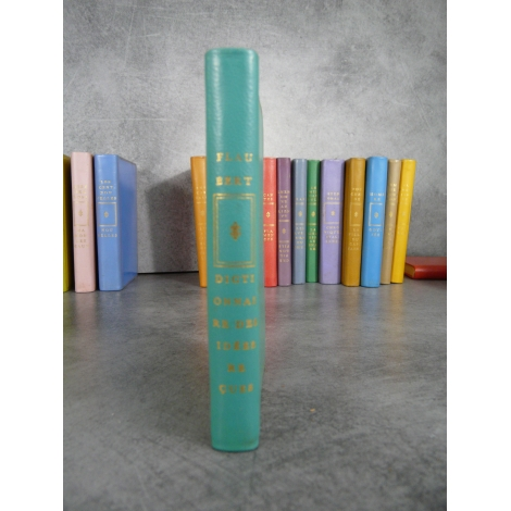 Flaubert dictionnaire des idées reçus Dessins de Chaval humour Collection privilège numéroté pleine reliure éditeur