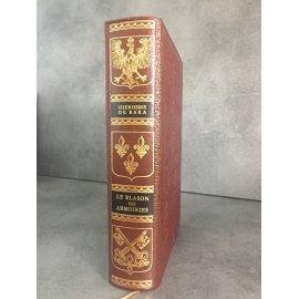 Jean de Bonnot Heraldique Blason des Armoiries Hierosme de bara 1975 très bel exemplaire collector.