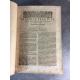 Cujas Jacques Cuiacii Iacobi Recitationes solemnes in varios ... droit histoire Paltheniana Francfort Marque d'imprimeur1596