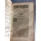 SALUSTE Guillaume de, Seigneur du Bartas Simon Goulart 4 volumes en 1 très fort tome. Chouet 1601 Seconde sepmaine