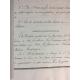 Manuscrit post révolution 1795 administration des biens du citoyen Blanchebarbe Histoire calligraphie papier