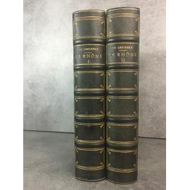 Lenthéric Le Rhône Histoire d'un fleuve complet des cartes et plans. Geneve Lyon Vienne Avignon Edition originale