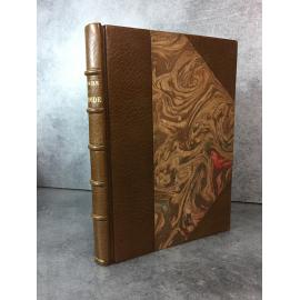 Voltaire Candide Maroquin signé de Aussourd. Beau livre de bibliophilie Piazza sur papier japon. 1924