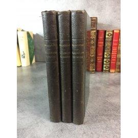 Balzac Honoré de Les illusions perdues Calmann Levy 1896 reliure demi percaline de l'époque .