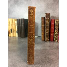 Balzac Honoré de Eugénie Grandet Paris Charpentier 1839 Edition partie originale reliure du temps bon exemplaire