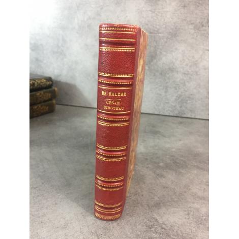 Balzac Honoré de César Birotteau Paris Charpentier 1839 Edition partie originale reliure du temps bon exemplaire
