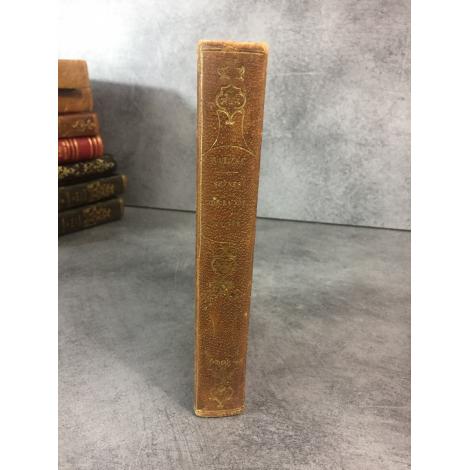 Balzac Honoré de scene de la Vie de province Paris Charpentier 1839 Edition partie originale reliure du temps bon exemplaire
