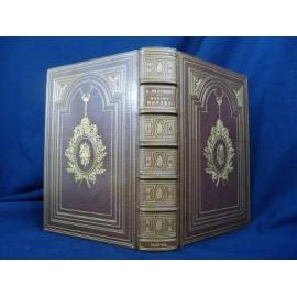 Flaubert Gustave Madame Bovary Plein maroquin de Engel Eau fortes Fourié