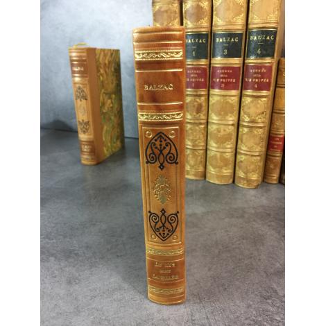 Balzac Le lys dans la vallée Collection Garnier Prestige reliure cuir tête dorée