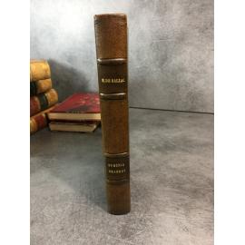 Balzac Honoré de Eugénie Grandet Paris Garnier Allem tirage sur joli papier vergé demi reliure cuir.