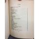 RIMBAUD (Arthur) Oeuvres de Rimbaud 1854-1891. Reliure plein cuir numéroté sur beau papier