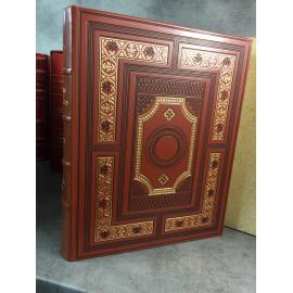 Marco Polo Le livre des merveilles traduction de Hambis lithographies de Lepri Cuir sous emboitage