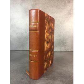 Andersen Contes illustré par Dum Edition du Panthéon Relié cuir Enfantina beau livre numéroté.
