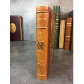 Pierre loti Ramuntcho 1925 Reliure maroquin signée de Peeters. numeroté sur velin du marais