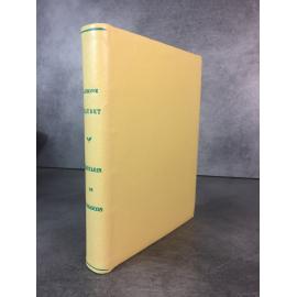 Capy Marcel Daudet Alphonse Tartarin de Tarascon llustrées en couleurs reliure plein cuir claire.