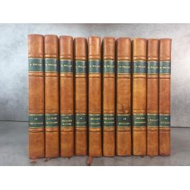 Vialar La chasse aux hommes complet tome 1 a 10 Papier d'édition reliure uniforme bon exemplaire.