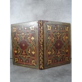 Pisidas Georgius Opus sex dierum su mundi edition princeps Reliure à la cire 6 jours création créationisme Paris Morel 1584