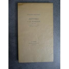 Apollinaire Guillaume Lettres a sa marraine Pour les fils de roi 1948 Edition originale