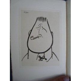 Apollinaire Guillaume Contemporains pittoresques La belle page 1929 Edition originale lithographie par Picasso portrait