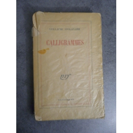 Apollinaire Guillaume Calligrammes Gallimard 1948 mention22e