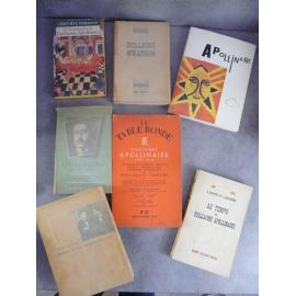 Apollinaire Guillaume lot de bonne documentation sur Guillaume Apollinaire 7 livres