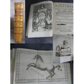 Soleyssel le Parfait Maréchal Cheval Hippiatrique art vétérinaire dressage 1754