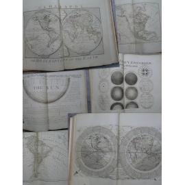 Dunn Atlas in folio cartes 57 x 46 cm complet Astronomie globe terrestre Découverte cook