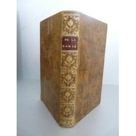 Jacquin De la santé ouvrage utile à tous le monde chronobiologie diététique Prophylaxie 1763