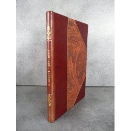 DOUCET (Jérôme). Anacréon Compositions de Louis-Edouard Fournier, eaux-fortes de Pennequin. Maroquin