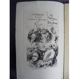 Mireur Rétif de la bretonne et le pornographe 1879 Prostitution Maisons closes N° 18 /150