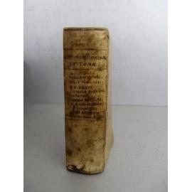 Historiae Romanae Epitomae Tout Petit format Elzévir Jansonium Fine typographie