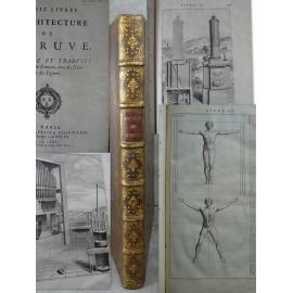 Les dix livres d'architecture de Vitruve, corrigez et traduits nouvellement en Français, par Claude Perrault